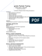 MT II Course Outline