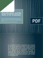 overeducation and skill  OF UK graduates
