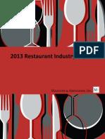 2013 Restaurant Industry Report