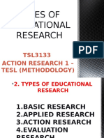 2. Types of Educational Research