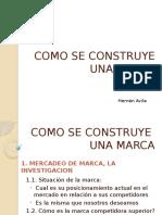 V.- HERNÁN ÁVILA-Cómo Se Construye Una Marca-Rueda de La Marca