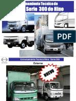 Curso Entrenamiento Tecnico Camiones Livianos Serie 300 Hino Especificaciones Componentes Caracteristicas