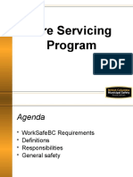 Tire Servicing Program Ppt