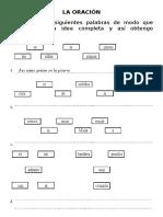 LA ORACIÓN - 5° y 6°