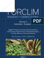 FORCLIM Bosques y Cambio Global Vol 2 Colombia Ecuador