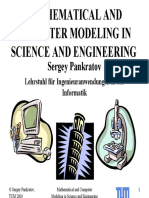 Mathematical and Computer Modeling in Science and Engineering