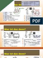 Deutsch 1 - Lektion 2 (2016-02-15)