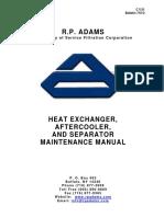 Heat Exchanger Aftercooler and Separator