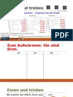 Deutsch 1 - Lektion 3 (2016-03-07)