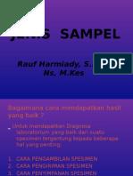 JENIS  SAMPEL.pptx