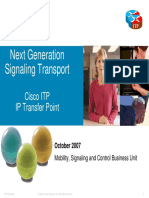 Cisco IP Transfer Point (ITP)