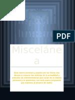Revista La Miscelanea