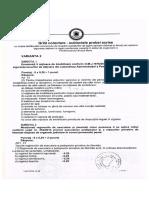 Subiecte Proba Scrisa - Admitere Penitenciare - Barcea Mare