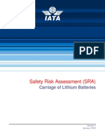 IATA Safety Risk Assessment Carriage of Lithium Batteries v.2