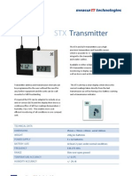 MeasurIT Meaco STX Transmitter 0911