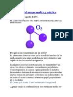 aceite ozonizado