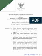 PMK 04 2015 Perubahan PMK 155 Pemberitahuan Pabean