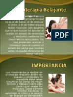 Masoterapia Relajante