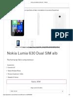 Nokia Lumia 630 Dual SIM Alb - Telekom