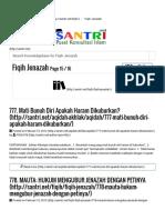 Fiqih Jenazah Archives _ Laman 15 Dari 16 _ Pusat Konsultasi Islam (1 Page)