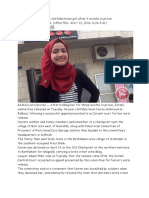 2 Israel Releases 15-Year-old Palestinian Girl After 3 Months in Prison