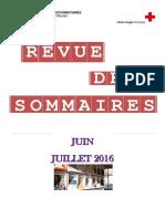 RS Juin, Juillet 2016
