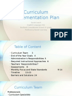 edu707 leach curriculumimplementationplan