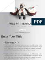 Doctor-Themed-Cupcakes-Medical-PPT-Templates-Standard.pptx