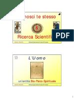 Gaetano Palumbo - Conferenza Conosci Te Stesso e Ricerca Scientifica (1)