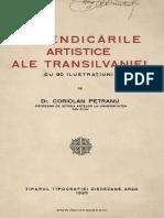 Coriolan Petranu - Revendicările Artistice Ale Transilvaniei