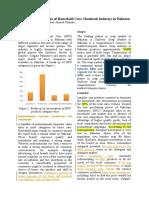 Development Scenario of Household Care Chemicals Industry in Pakistan - Copy