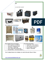 SME- Brouchure- Power Quality & Power Electronics