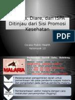Malaria, Diare, Dan ISPA Ditinjau Dari