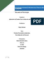 Trabajo Final Aplicacion de Pruebas Para Seleccion de Personal (1)
