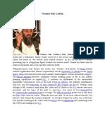 Osama bin Laden.docx