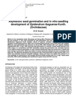 Asymbiotic Seed Germination and in Vitro Seedling Development of Epidendrum Ibaguense Kunth.