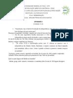 ATIVIDADE II (1) Cultura Dos Povos