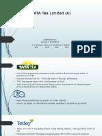 CV Tata Case