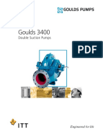 Goulds 3400 Double Suction Pumps