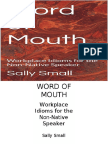 Word of Mouth - Workplace Idioms for the Non-Native Speaker