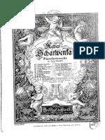 Scharwenka, Xaver - 6 Waltzes, Op.28