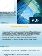Service Tax Return Filling