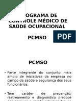 Apresentação Do PCMSO - 2016