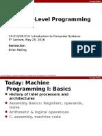 05 Machine Basics