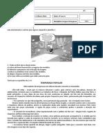 06. Avaliação 2 - Interpretação de Texto - TESTE - 9º ano A.pdf