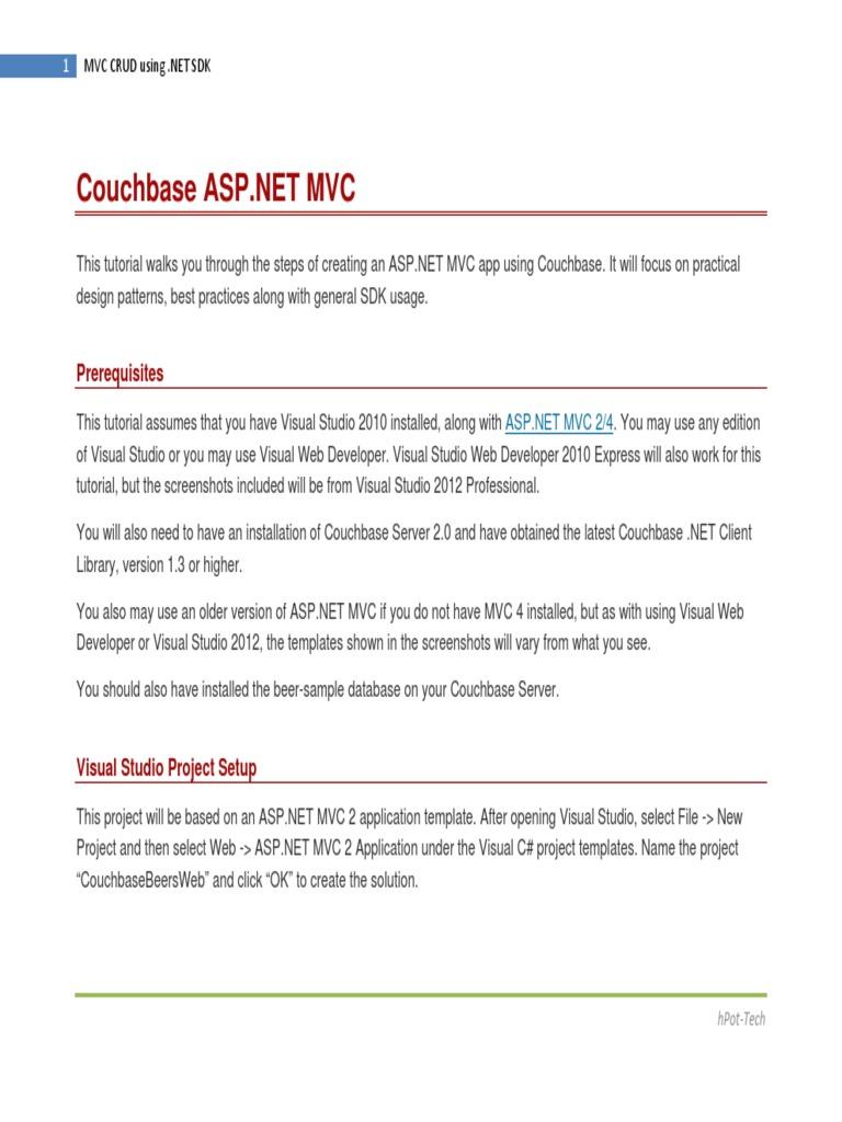 Tutorial Mvc Net Microsoft Visual Studio Class Computer
