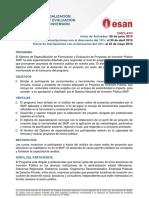 Información Chiclayo SNIP 2015