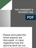 Christology 3- The Atonement & Resurrection