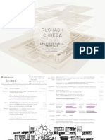 Architectural Portfolio - Rushabh Chheda