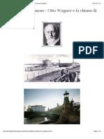 DANUBIO Architettura Viennese - Otto Wagner e La Chiusa Di Nußdorf